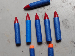 Nerf Dart Pointed tip.
