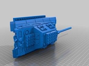 1-36 lego tank jagdtiger