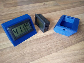 Desktop stand for humidity and temperature snap in module