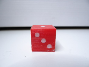 Simple dual color dice