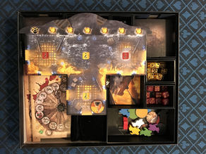 Dead Men Tell No Tales (Board Game Insert & Storage)
