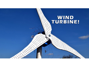 3D Printed Wind Turbine