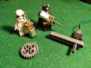 N20 Motor LEGO compatible mount & axle