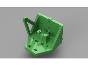 Anet A8 E3D V6 Direct Mount reinforced carriage and clamp