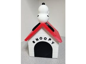 Snoopy on Doghouse Bank