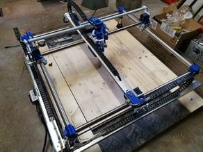 Schienen Halterung MPCNC, Mostly Printed CNC