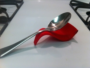 Sine Wave Spoon Holder