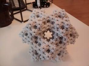 Parametric 3D koch snowflake