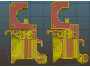 Mk2.3 extruder body - Smoother