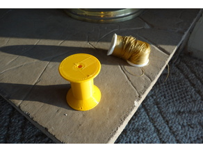 Parameterized Spool for thread or string