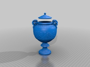 empire vase (with lid) or a planter