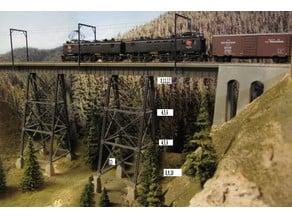 O-Scale Bridge Components