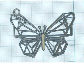 Geometric Butterfly - Papillon Geometrique