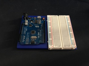 arduino uno base and 400 pin breadboard