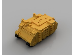 Rhino Transport Vehicle for Epic 40K (6mm scale)
