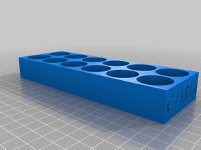 Stackable Battery Tray for C-Battery / C-Cell / LR14 batteries