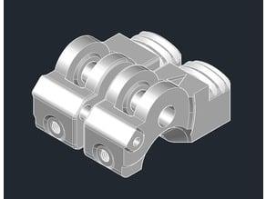 Saint Flint - 11mm Drive Gear - PC4-M5 fittings