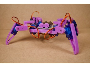 Q1 lite Simple Quadruped Robot (Designed by Jason Workshop)