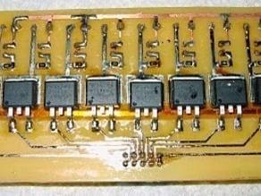 Renoir's RepRap Heater Board