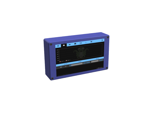 OctoPi Station 7 - Raspberry Pi Case for 7 Inch Screen and
