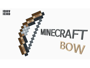 [1DAY_1CAD] MINECRAFT BOW