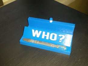 doctor who card holder