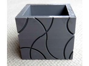 Embossed box