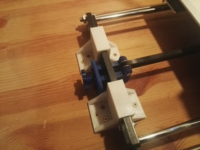 Anet a8 table holder & front stabilization