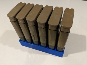 BATTLE RIFLE MAGAZINE STANDS