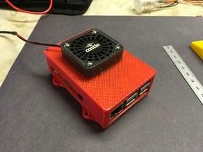 Raspberry Pi 3 Fan Case