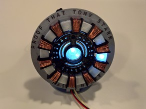 Tony Stark's Bluetooth Controlled Arc Reactor