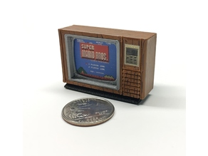 "Mini Zenith 13"" Space Command Color TV"