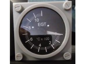B737 EGT Gauge