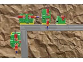 Frame Holder for B2D Extruder AM8 / 2020 or 3030
