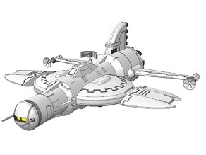 Captain Future - Starship Lightning - updated
