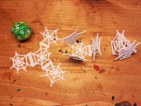 foldable Spiderweb - 28mm decoration