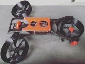 Tilt - Drone Frame Prototyp Y4 Tilt Drone Copter