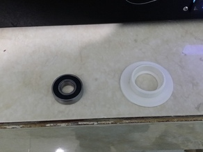 Bearing adapter for fillament support