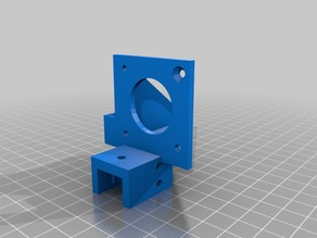 E3D V6 mount for GEEEtech Prusa I3