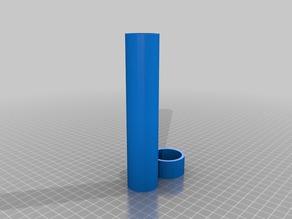 box round 5.5 inch tall .1.25 round