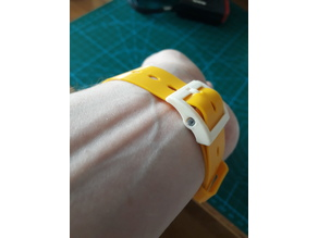 20 mm watch strap and buckle