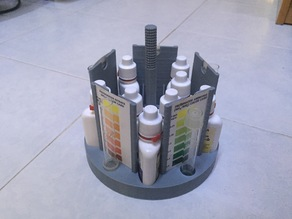 Test Kit Holder (Aquaponics/Aquarium etc)
