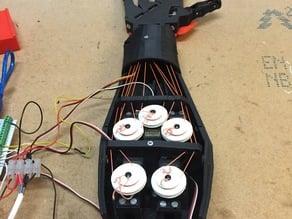 InMoov hand dual track servo pulleys