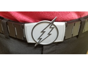 Wearable Chain Belt w/ Flash Logo