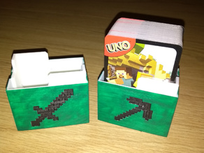 Uno Minecraft Card Box