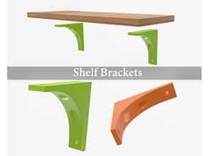 Easy shelf brackets