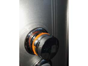 Shower selector position ring