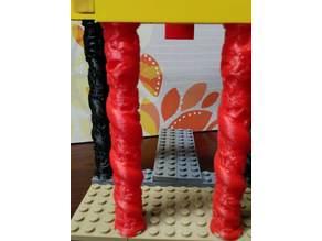 Lego Style Dragon Pillar