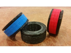 Fidgety Ring w/ 3 tactile bands