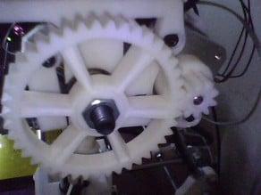 Greg's wade extruder gear for Prusa Mendel